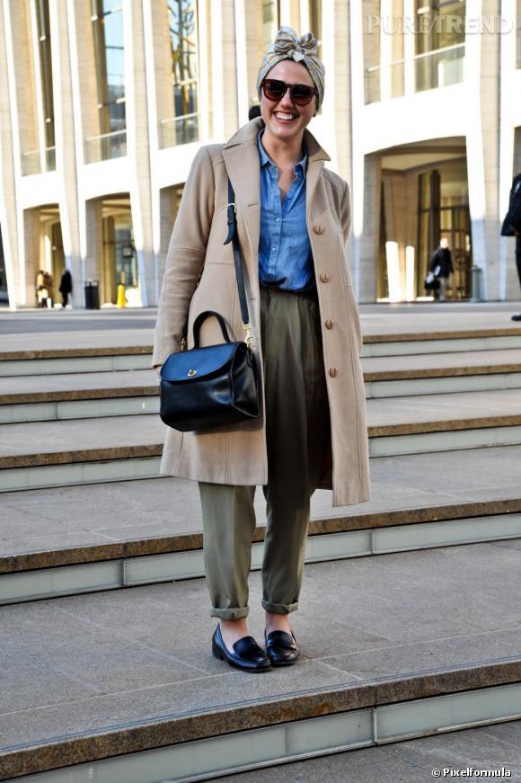 Côté rue, c'est le turban façon Elsa Schiaparelli qui a le plus de succès.