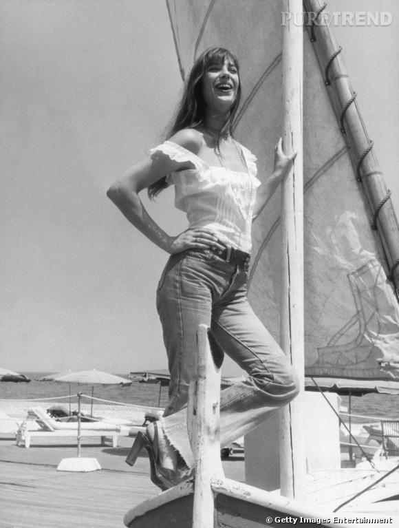 Le modèle original sur Jane Birkin en 1973.