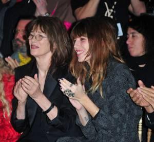 Jane Birkin, Lou Doillon, Kanye West : les front rows parisiens du 8 mars