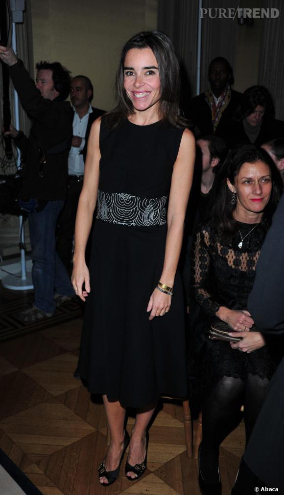 Elodie Bouchez chez Yves Saint Laurent.