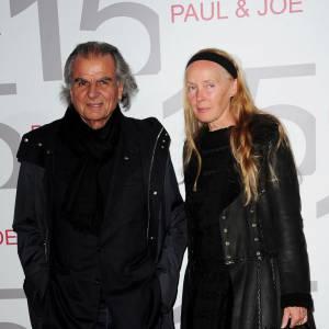 Le photographe Patrick Demarchelier et sa femme chez Paul&Joe.