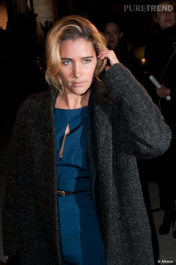 Vahina Giocante, femme fatale chez Yves Saint Laurent.