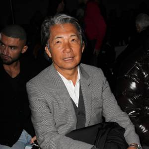 Kenzo Takada chez Giambattista Valli.