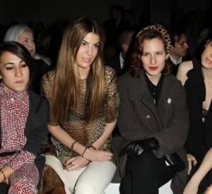 Delfina Delletrez, Bianca Brandolini d'Adda, Charlotte Dellal et Elettra Rosselini chez Giambattista Valli.
