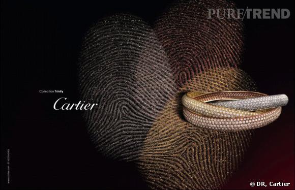 Collection Trinity de Cartier.