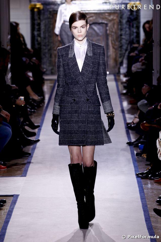 d fil saint laurent automne hiver 2011 pr t porter femme paris. Black Bedroom Furniture Sets. Home Design Ideas