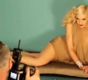 Séance shooting de Gwen Stefani pour le ELLE UK d'avril 2011.