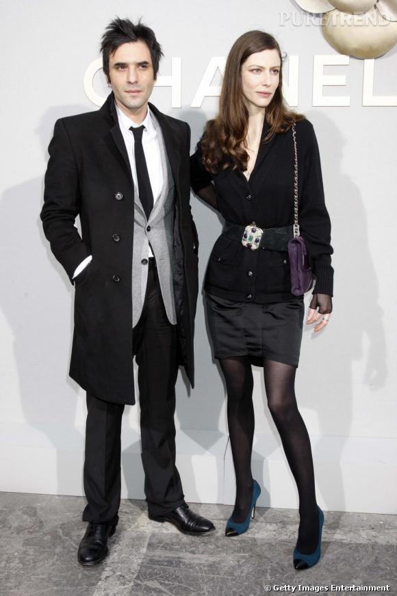 2008 :  Anna Mouglalis ou le chic parisien avec Samuel Benchetrit.