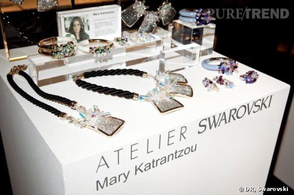 Mary Katrantzou pour l'Atelier Swarovski, collection automne-hiver 2011.
