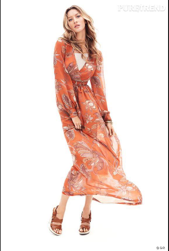Gisèle Bundchen pour H&M.