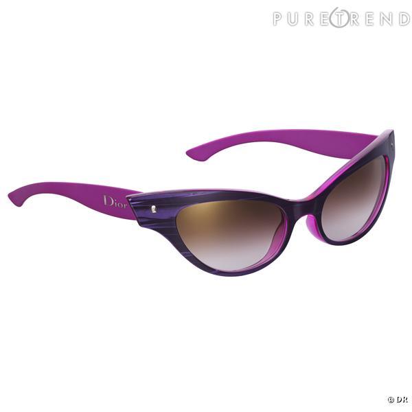 """Lunettes """"Marquises"""" Christian Dior       Une paire de lunettes papillon, comme la Lolita fifties de Stanley Kubrick.    Prix : 315 €."""
