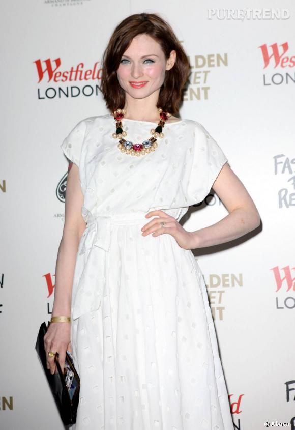 Sophie Ellis Bextor à l'ouverture du Pop Store pour Fashion For Relief, chez Westfield, à Londres.
