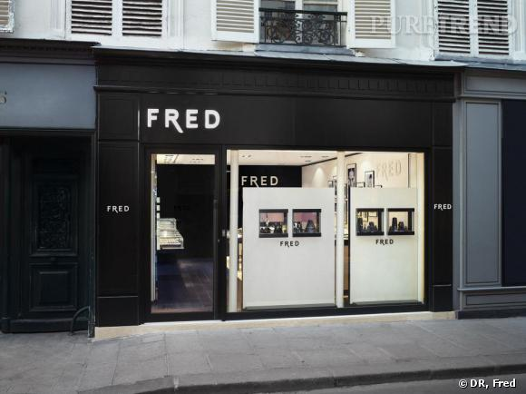 Nouvelle boutique Fred du Marais, 6 rue des Francs-Bourgeois.