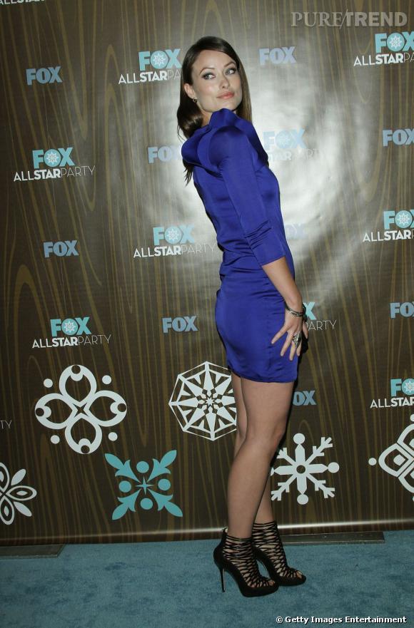 """C'est qui elle ?  Olivia Wilde, le beauté fatale surnommée """"numéro 13"""" dans la team du """"Doctor House""""."""