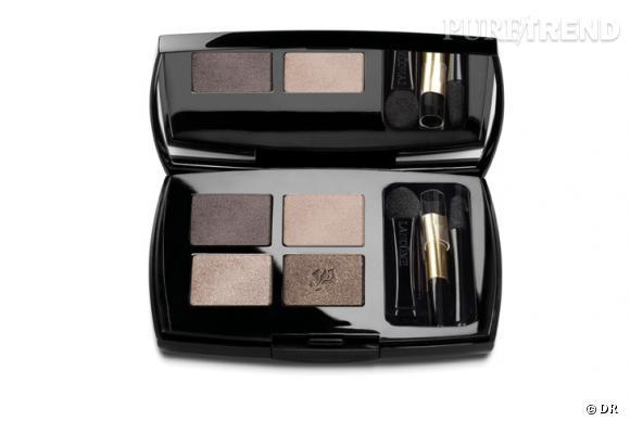 Dans le vanity de Faye Dunaway    Nom  : Les oeillades de Lancôme   Lancôme sublime le regard et réinvente la palette pour un smoky étincellant.    Prix :  51 €.