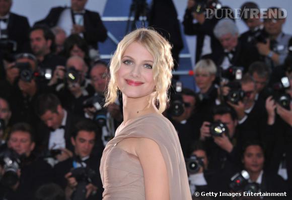 Mélanie Laurent à la cérémonie de clôture à Cannes.
