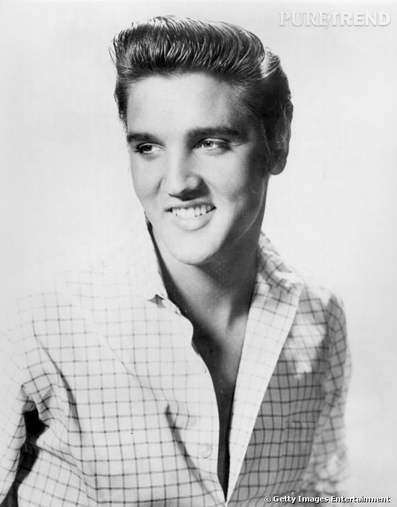 Comment on se coiffait dans les années 50 ?     Nom :  Elvis Presley    Coiffure :  la mèche banane très rock & roll.