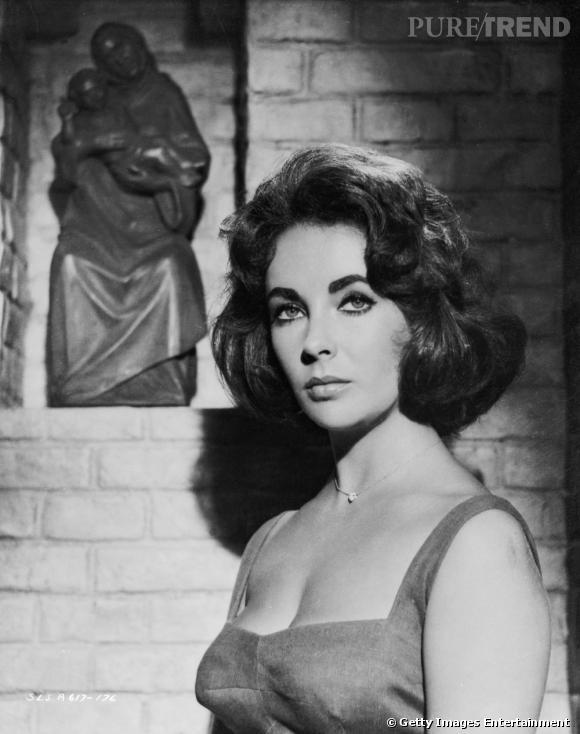 Comment on se coiffait dans les années 50 ?     Nom :  Elizabeth Taylor    Coiffure :  le carré soufflé.