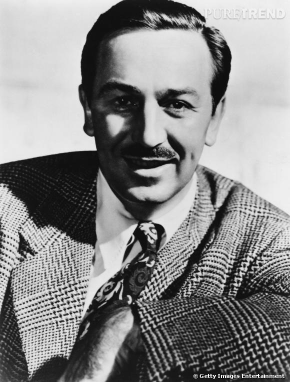 Comment on se coiffait dans les années 50 ?     Nom :  Walt Disney    Coiffure :  les cheveux sont plaqués en arrière.