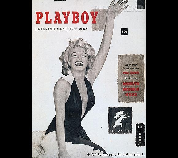 """L'actrice est la première personne a avoir posé pour """"Playboy"""". Des photos d'elle nue à l'intérieur font immédiatement sensation... La star est née."""