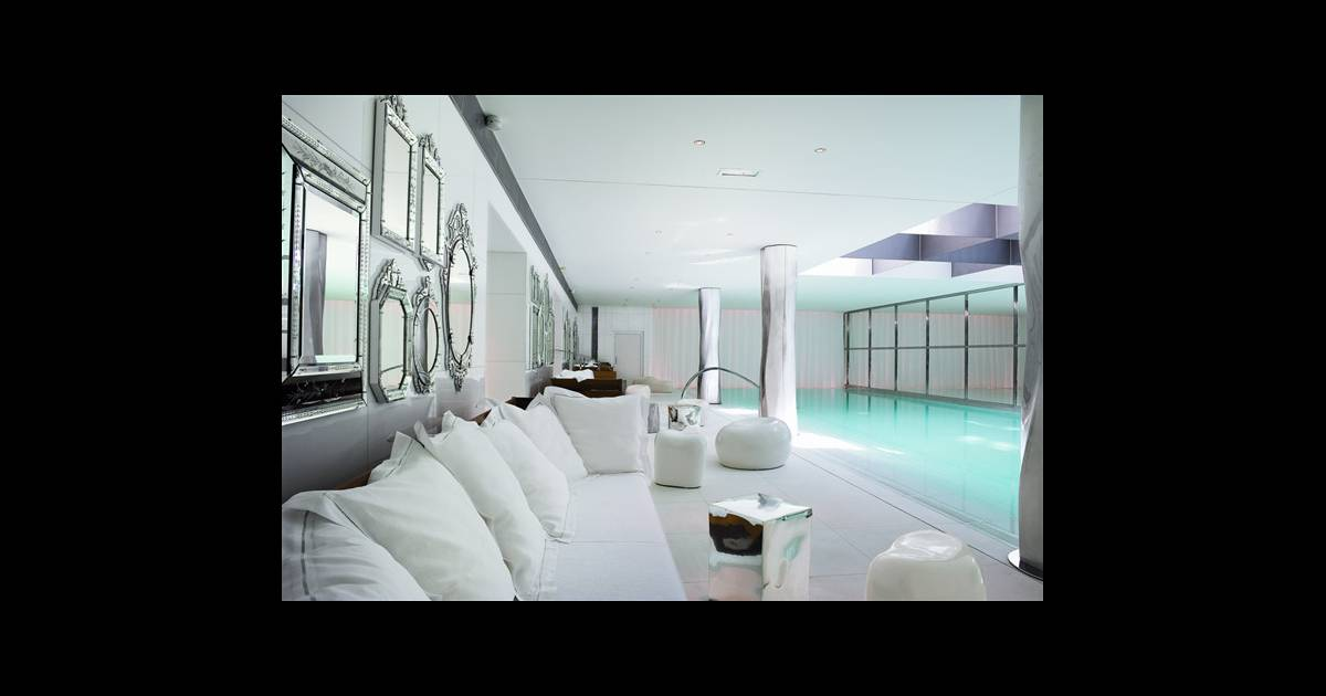 spa my blend de clarins au royal monceau. Black Bedroom Furniture Sets. Home Design Ideas