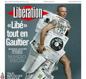 Jean Paul Gaultier relooke Libération