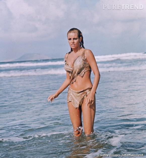 La belle Raquel Welch, égérie officielle des GI's et des prisonniers grâce à ses rôles en bikini.