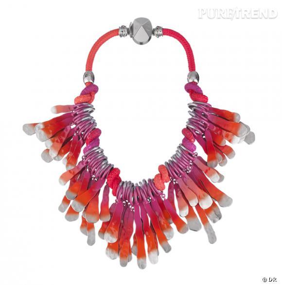 """Collier """"Nouez moi"""", Christian Dior       Un collier trompe l'oeil, la version couture de la parure des Vahinés.       Prix sur demande"""