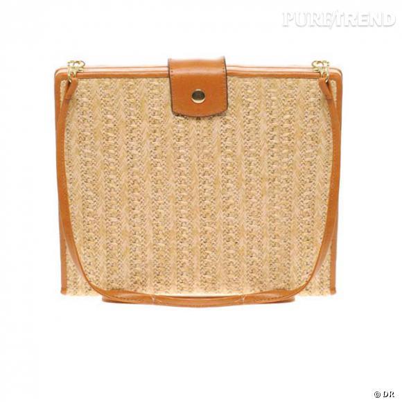 Sac Asos       Un sac à main de Lady, mais mieux vaut oublier le cuir sur le sable.    Prix : 28.85€     En vente sur  www.asos.fr