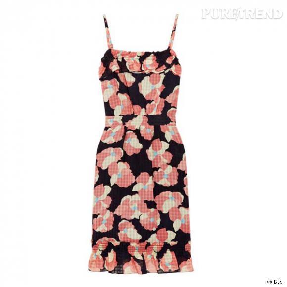 Robe Juicy Couture      Un imprimé frais et la taille marquée, soit la petite robe idéale des pin-up en mode playa.      Prix : 247€