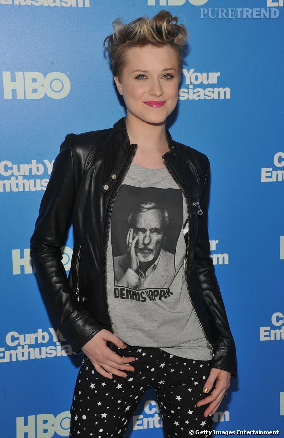 Evan Rachel Wood à la première de la saison 8 de Curb Your Enthusiasm à Londres.