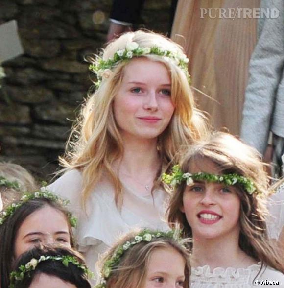 Lottie Moss au mariage de sa soeur.