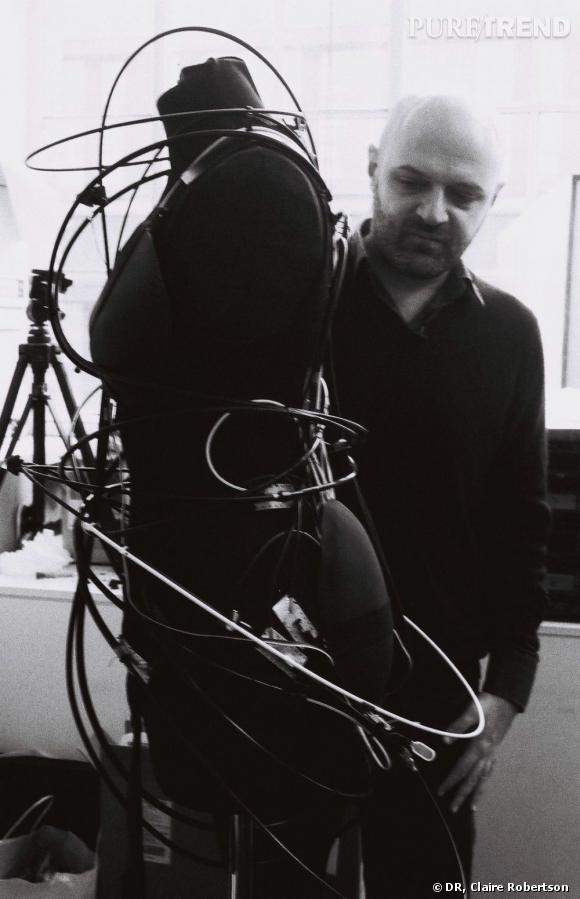 Portrait de Hussein Chalayan
