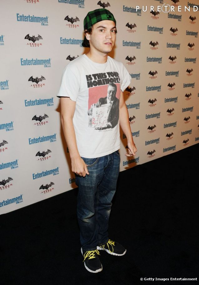 "Emile Hirsch au Comic Con de San Diego pour le film ""The Darkest Hour ..."