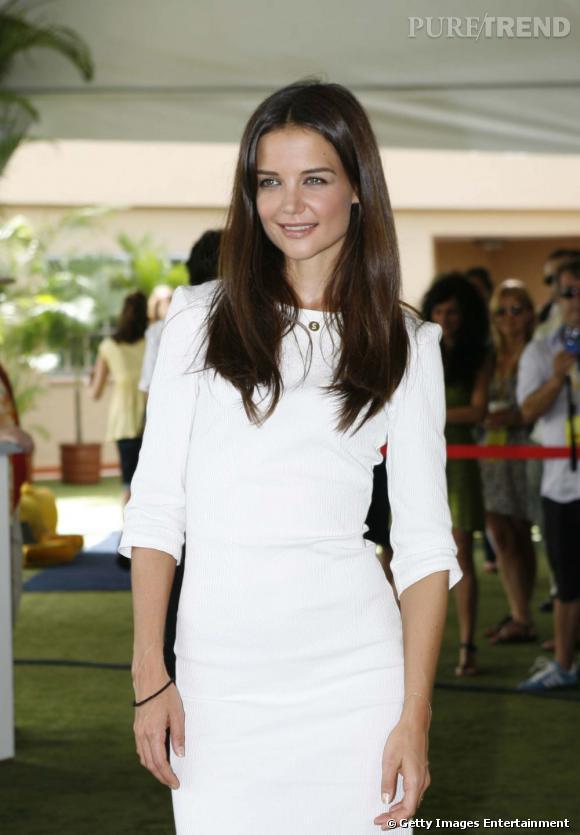 """Katie Holmes à une réception Sony et """"Jack & Jill"""" à Cancun."""