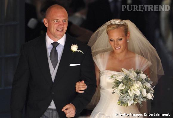 Zara Phillips et Mike Tindall, mariés pour le meilleur et pour le pire.