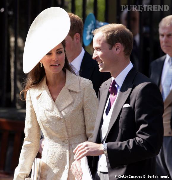 Kate Middleton et le Prince William, toujours en duo.