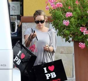 Hilary Duff, grave addiction