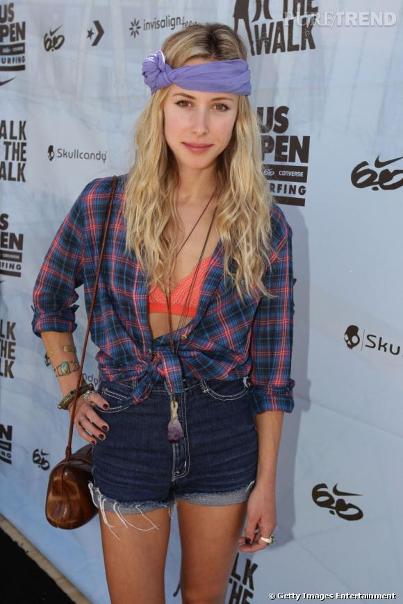 Gillian Zinser au  Hurley Walk the walk national championshop 2011 à l'Huntington Beach.