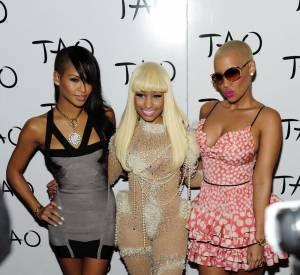Cassie, Nicki Minaj et Amber Rose, trio de choc un brin cagole. Un brin ?