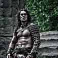 Le super-héros :   Conan le Barbare     Son look :   un gladiateur en jupette et au torse proéminent. Une image de sexy-man, en somme.     Sa mission :   combattre les forces du mal à la seule force de son poignet. Oui, Conan est un super-guerrier.