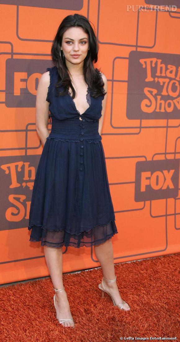 En 2006, l'actrice commence à afficher une prédilection pour les petites robes fluides très sensuelles.