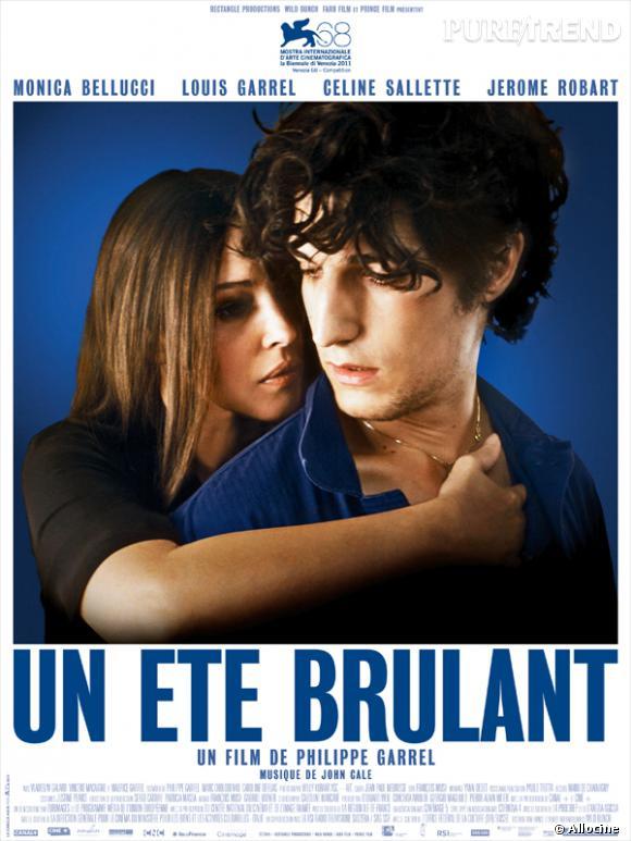 """Monica Belluci et Louis Garrel dans  """"Un été brûlant"""" ."""