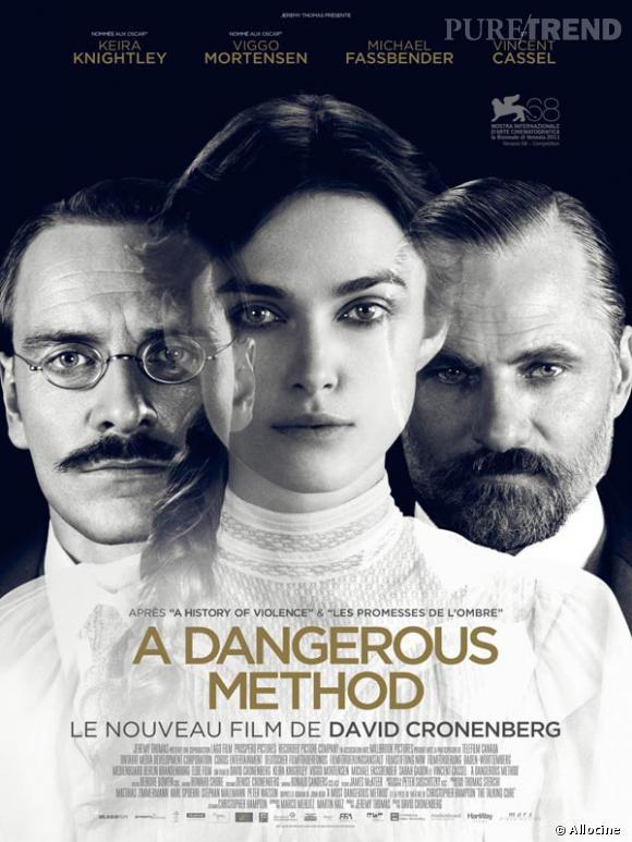 "Keira Knightley, Michael Fassbender et Viggo Mortensen dans ""A Dangerous Method""."