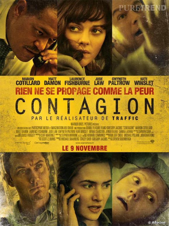 "Kate Winslet, Gwyneth Paltrow, Jude Law... dans  ""Contagion"" ."