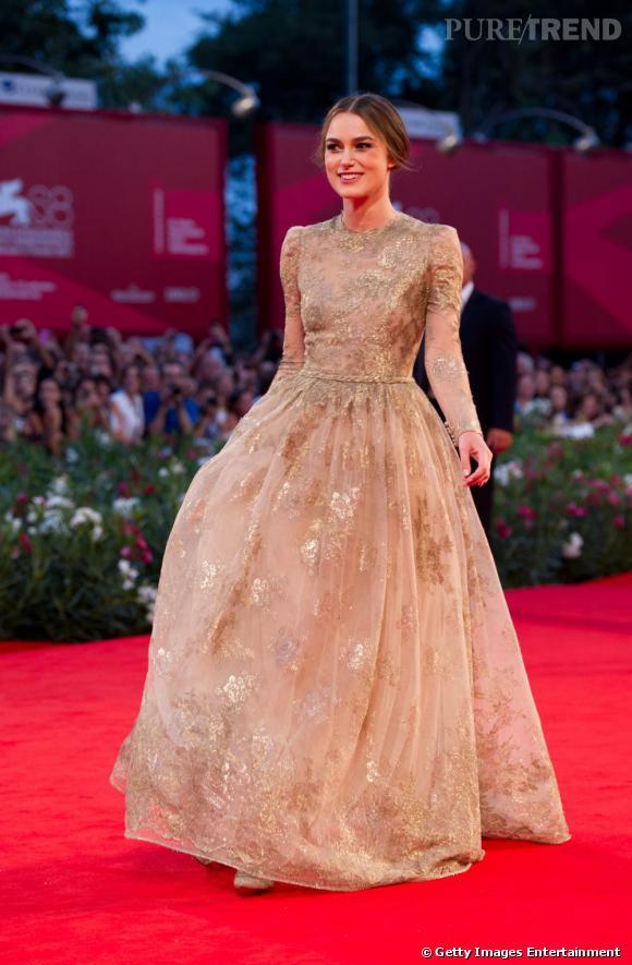 Keira Knightley Une Actrice Fidele Aux Robes Romantiques Puretrend