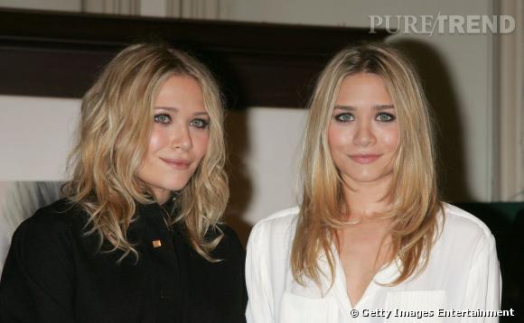 """Les soeurs Olsen,  Ashley  et  Mary-Kate , sont passées pro en balayage. Leur chevelure blonde, elles l'illuminent de nuances pour un effet """"retour de vacances"""" qui dure."""