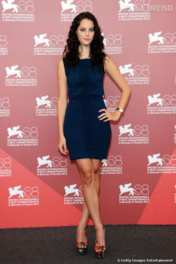 """Une apparition réussie pour l'actrice de """"Skins"""" qui parvient toujours à être sexy."""