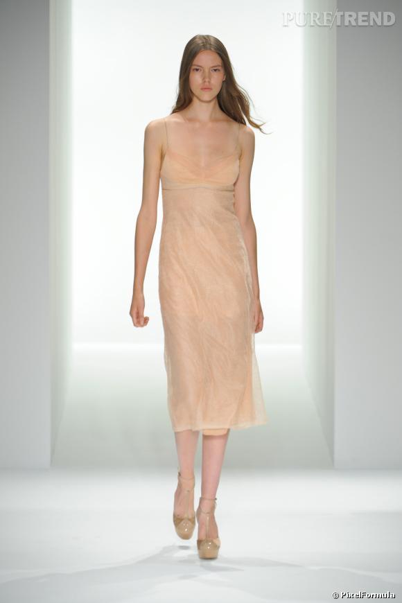 Défilé Calvin Klein CollectionNew-York Printemps-Eté 2013