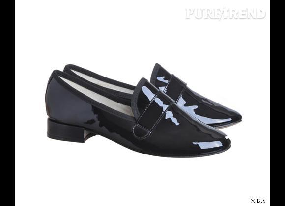 Sélection e-shopping : les essentiels au masculin www.brandbazar.com Loafers Repetto, 185 €.